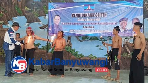 Demokrat Banyuwangi Siap Kirim Pasukan Pendekar ke Jakarta Kawal AHY