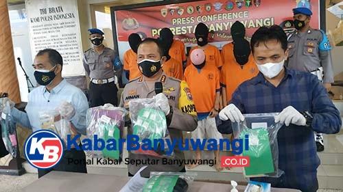 Polisi Tangkap 15 Pelaku Narkoba, 1 Diantaranya Merupakan Bandar