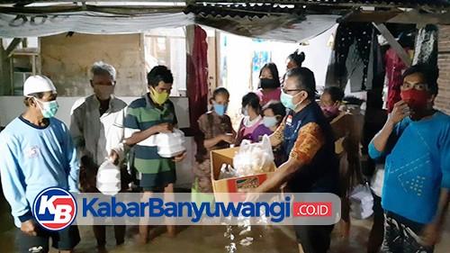 Rumah Tergenang Banjir, Warga Kelurahan Sobo Terpaksa Tidur di Mushola
