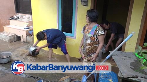Semalam Diguyur Hujan, Sungai Bagong Meluap Rendam Akses Jalan dan Puluhan Rumah