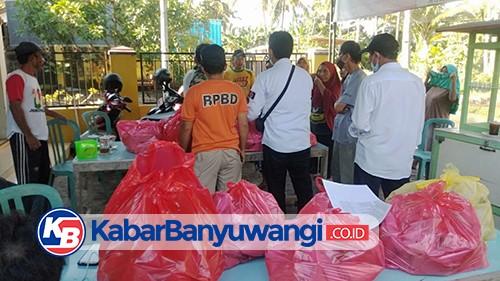 BPBD Banyuwangi Bantu Air Bersih dan Makan Siang-Malam untuk Warga Terdampak Banjir