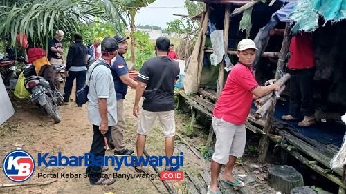 Bedah Rumah Janda Asal Banyuwangi oleh Ikawangi Balikpapan, Kalimantan Timur