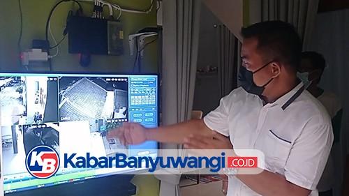 Aksi Pencurian Sepeda di Banyuwangi Terekam CCTV Warga