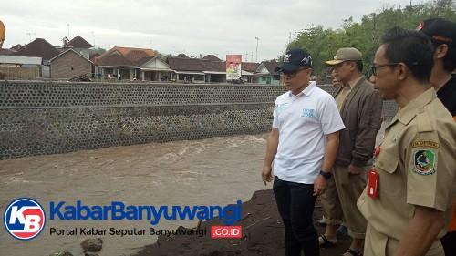 Antisipasi Banjir, Banyuwangi Intensif Pantau Pintu Air dan Normalisasi Sungai