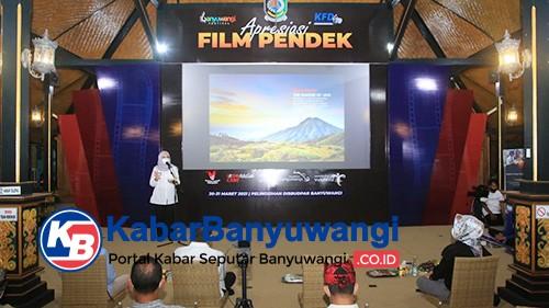 Gelar Apresiasi Film Pendek, Banyuwangi Dukung Karya Sineas Daerah
