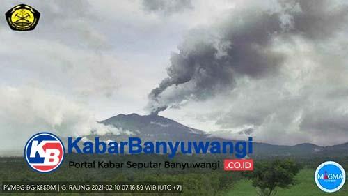 Gunung Raung Masih Berpotensi Menyemburkan Abu Vulkanik