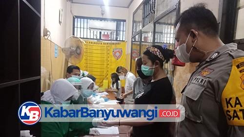 Cegah HIV, Dinkes Screening Ratusan Tahanan Polresta Banyuwangi