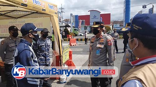 Dirregident Korlantas Polri Apresiasi Penerapan PPKM Darurat di Banyuwangi