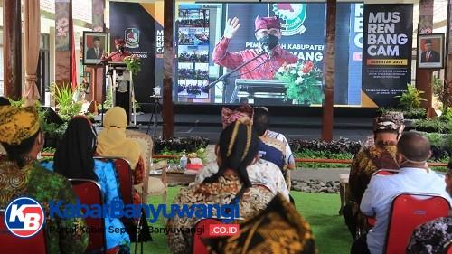 Musrenbangcam, Banyuwangi Fokus Pemulihan Ekonomi