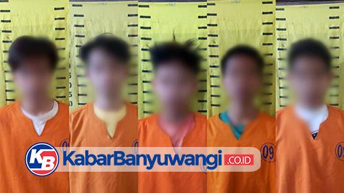 Gadis 15 Tahun Diperkosa 6 Pemuda, 5 Pelaku Berhasil Ditangkap, 1 DPO
