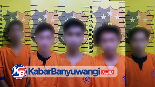 Dalam Sepekan, Polsek Genteng Ungkap 4 Kasus Peredaran Pil Trex, 5 Pemuda Diamankan