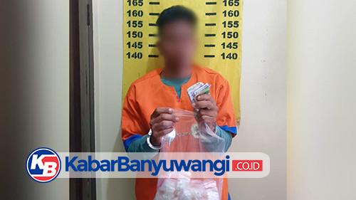 Unit Reskrim Polsek Kalibaru Bekuk Remaja Edarkan Pil Trex