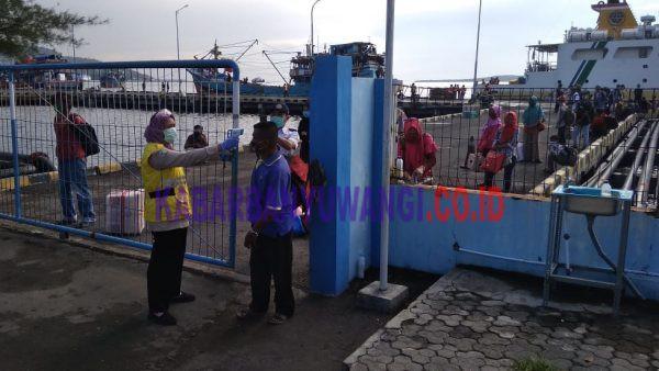 Pelabuhan Tanjungwangi Pastikan Penumpang Tujuan Sepekan Sesuai Protokol Covid-19
