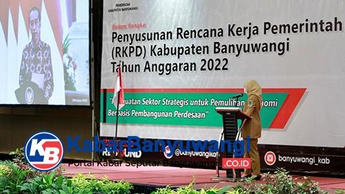 Ikuti Arahan Presiden, Ini Prioritas Pembangunan Banyuwangi Hingga 2022