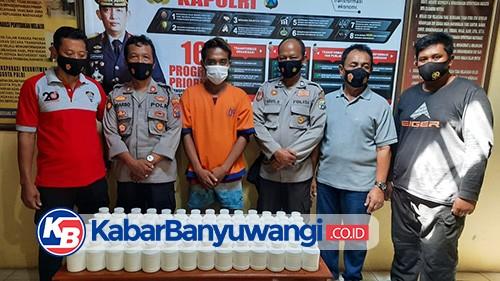 Polsek Wongsorejo Bekuk Pengedar Pil Trex Antar Kecamatan