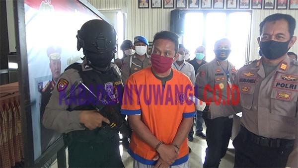 Ngaku Polisi, Tukang Las Ditangkap Polresta Banyuwangi