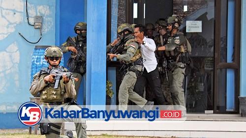 Marinir Indonesia dan Amerika Bebaskan Sandera di Pantai Pancer Banyuwangi