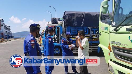 Satpolair Tingkatkan Pemeriksaan Surat Bebas Covid, Bagi Pelaku Perjalanan di Pelabuhan Ketapang