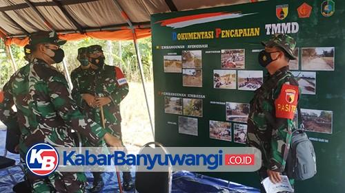 Kodim 0825 Banyuwangi Targetkan Program TMMD ke-111 Rampung Dalam 30 Hari