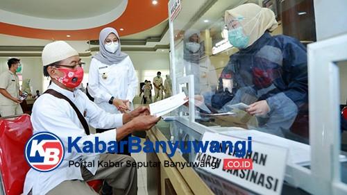 Banyuwangi Kebut Vaksinasi Covid-19 Ribuan Calon Jemaah Haji