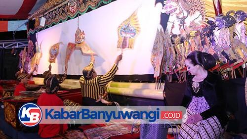 Pagelaran Wayang Kulit Warnai Banyuwangi Festival 2021
