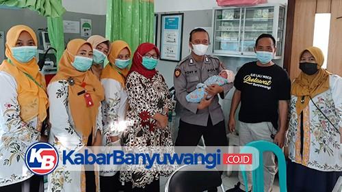 Bayi Baru Lahir Ditemukan Warga di Pondok Pinggir Jalan Persawahan