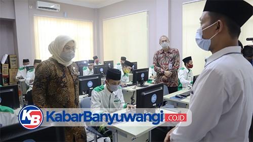 Menteri Ketenagakerjaan Kunjungi BLK Komunitas Pesantren Darussalam Blokagung