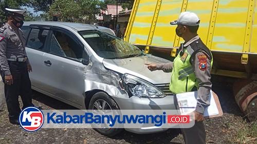 Dua Truk dan Satu Mobil Tabrakan Beruntun di Mangir