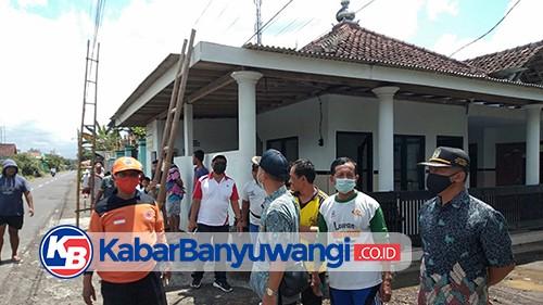 Angin Puting Beliung Terjang Desa Bangorejo