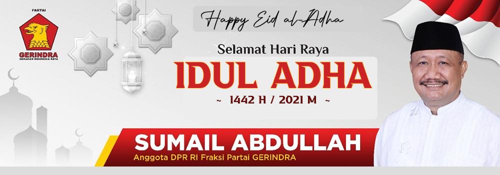 Iklan Banner Atas Sumail Abdullah Ucapan Idul Adha